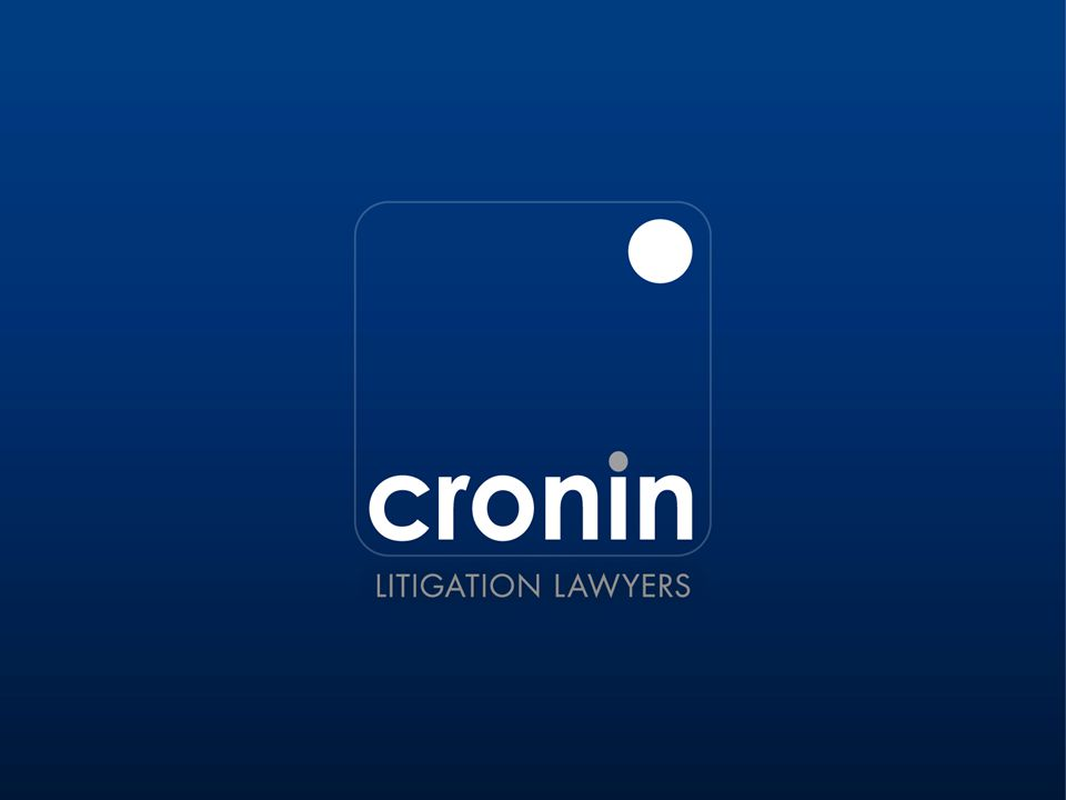 THE PERSONAL PROPERTY SECURITIES ACT 2009 BY DEREK CRONIN Partner Cronin Litigation Lawyers 6 October 2011