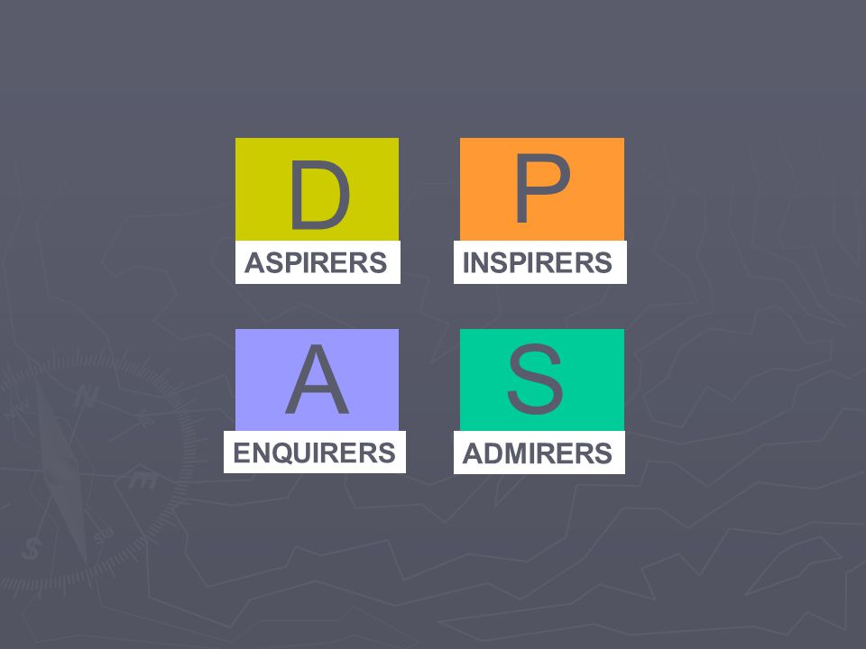 ASPIRERS D P S ENQUIRERS ADMIRERS INSPIRERS A
