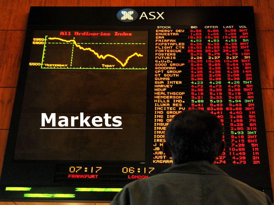 AUSTRA LIAN MARKET S Markets