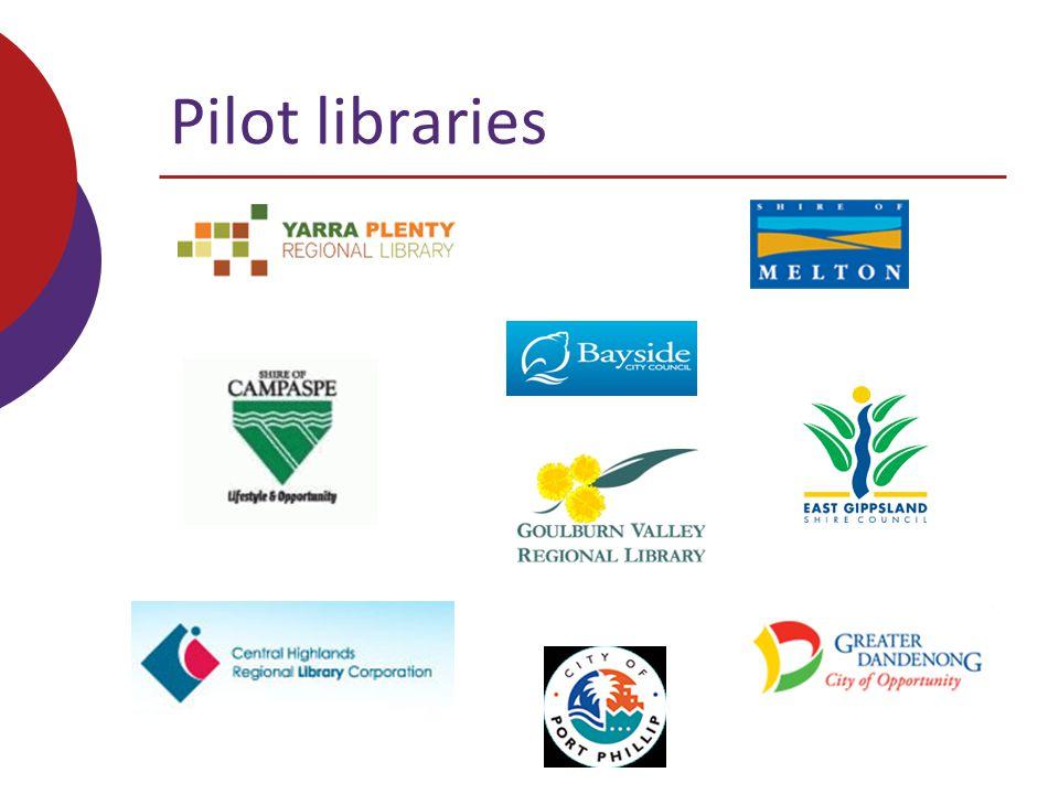 Pilot libraries