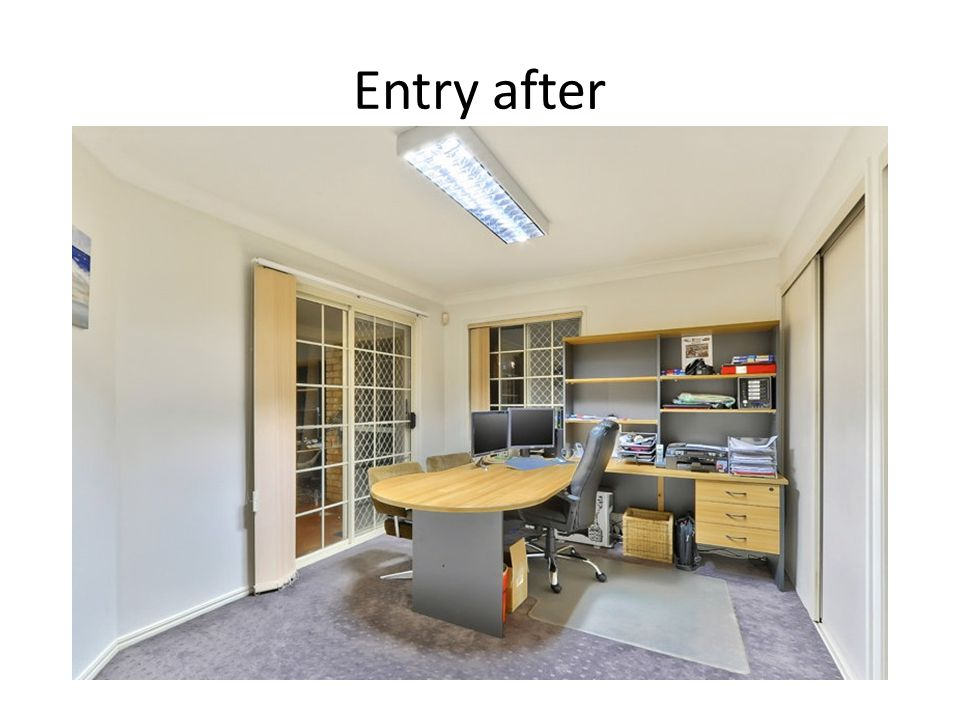 Entry after