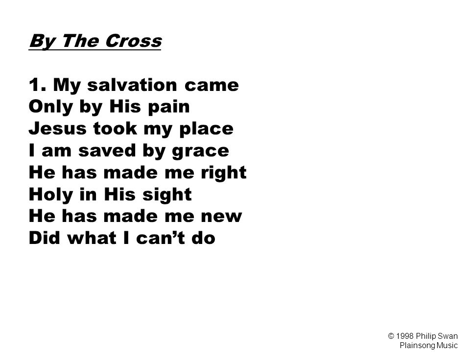 By The Cross 1.