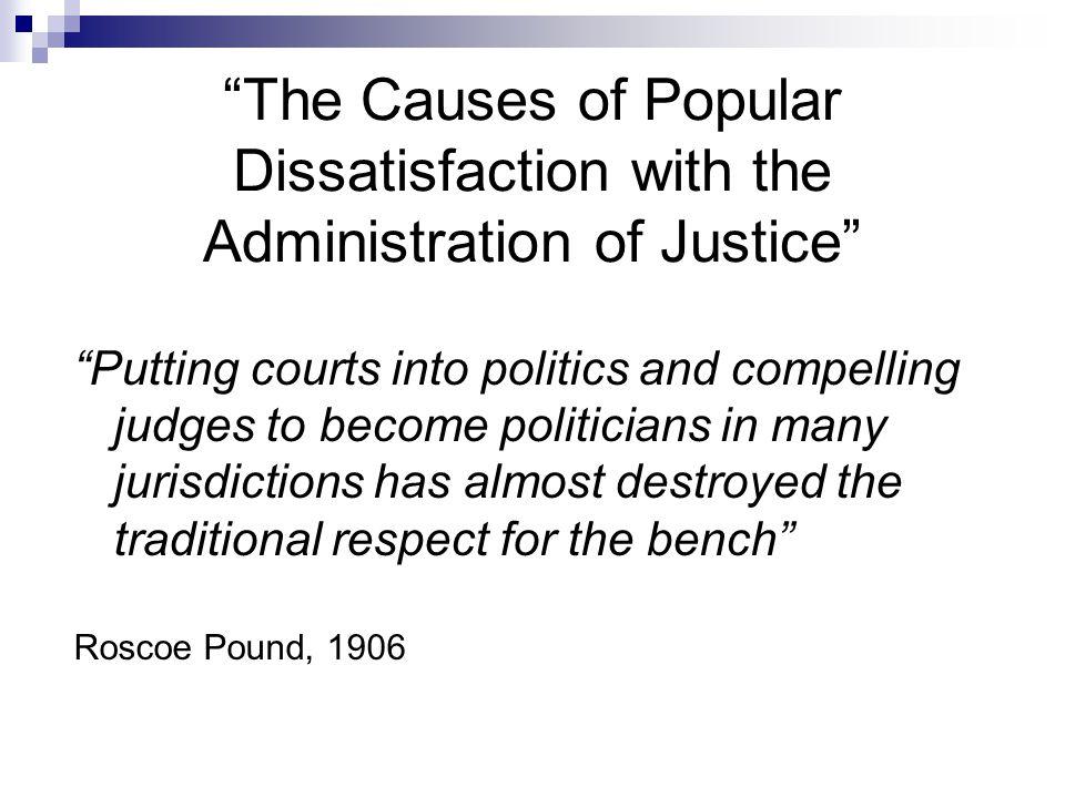 Methods of electing judges