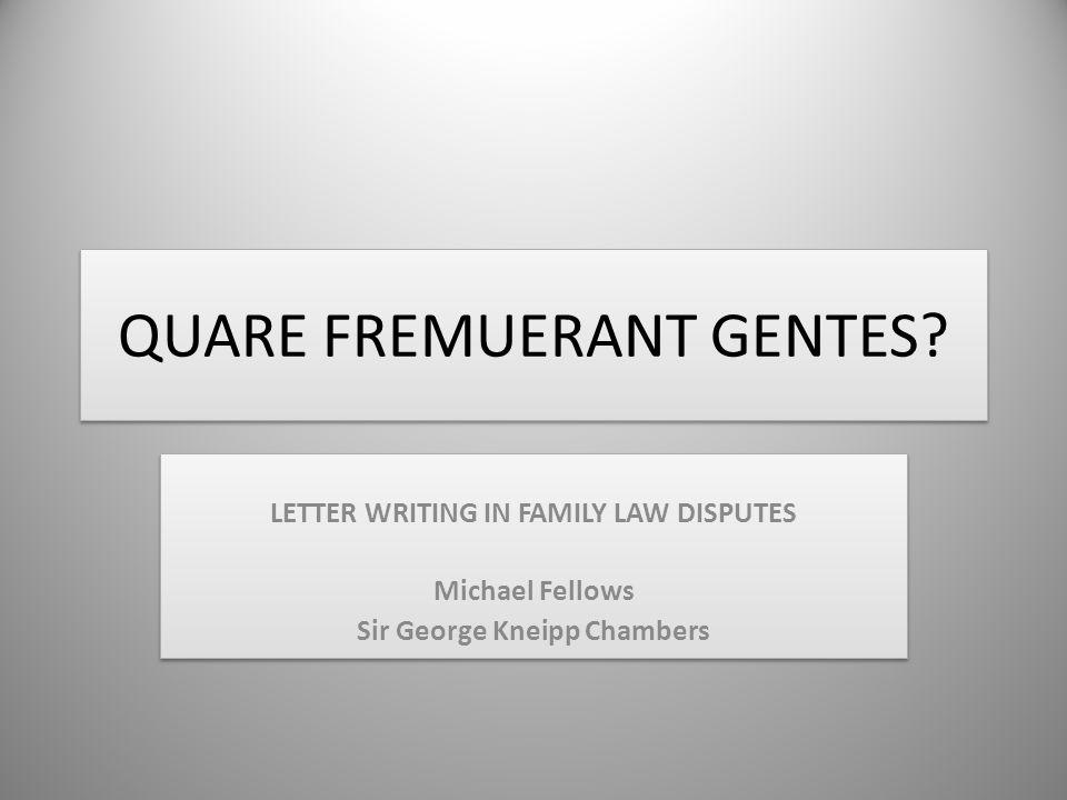 QUARE FREMUERANT GENTES.