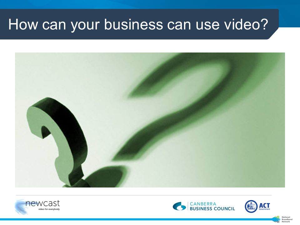 How can your business can use video?