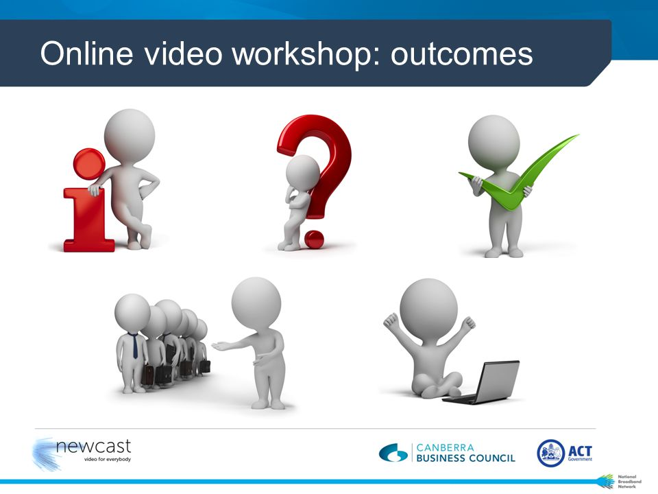 Online video workshop: outcomes