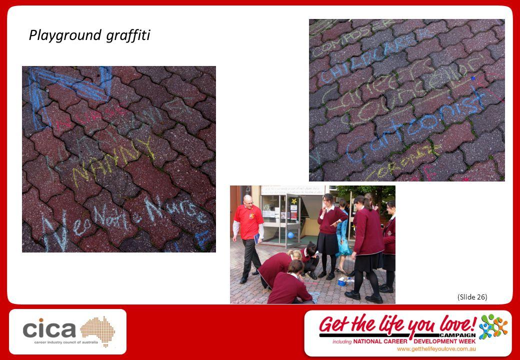 Playground graffiti (Slide 26)