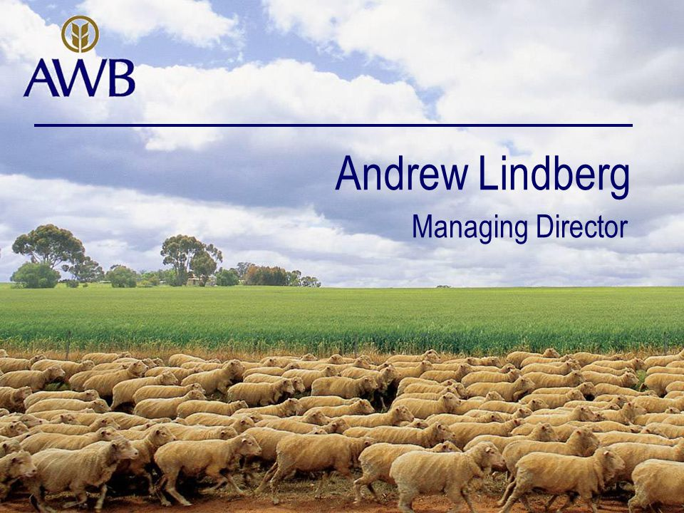 Andrew Lindberg Managing Director