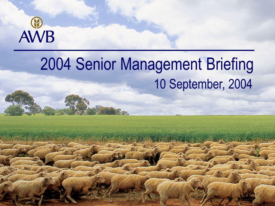 72 www.awb.com.au For further information contact: Delphine Cassidy Head of Investor Relations T: +61 3 9209 2404 E: dcassidy@awb.com.au