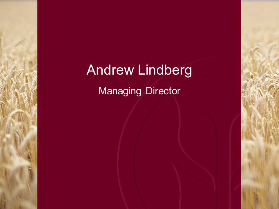 Andrew Lindberg Managing Director