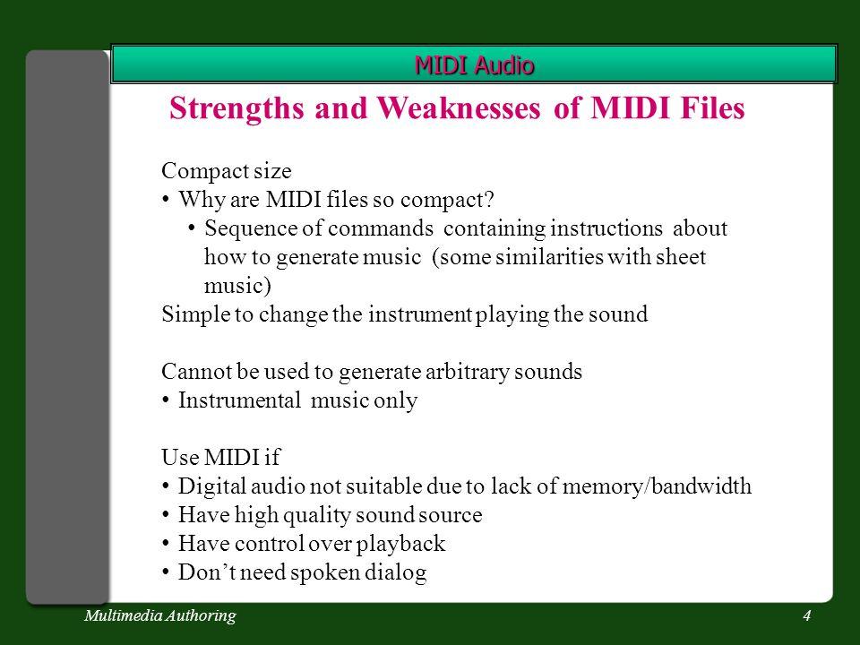 Multimedia Authoring24 Digital Sound Quantization Figure 4-2, Vaughan (2011)