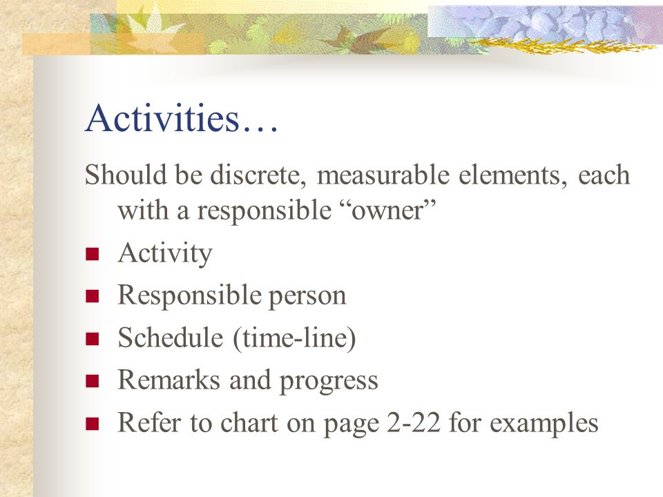 "Objectives… Translate the goals into specific achievable milestones ""Objective 2.1 – Create an educator development program to empower teachers to con"