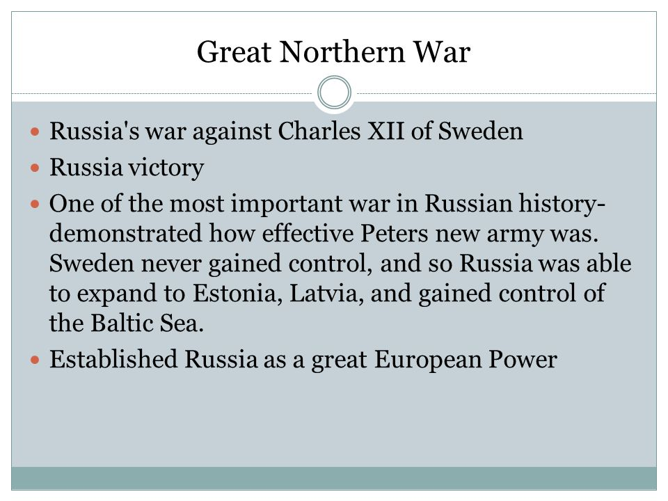 Negative Results Peters military reforms also had a few negative impacts- the taxes on peasants tripled during his reign due to the increase in factories and mines, so in turn Russian serfdom became more oppressive and broadened the gap between nobles and peasants, which would cause a lot of issues in later Russian history.