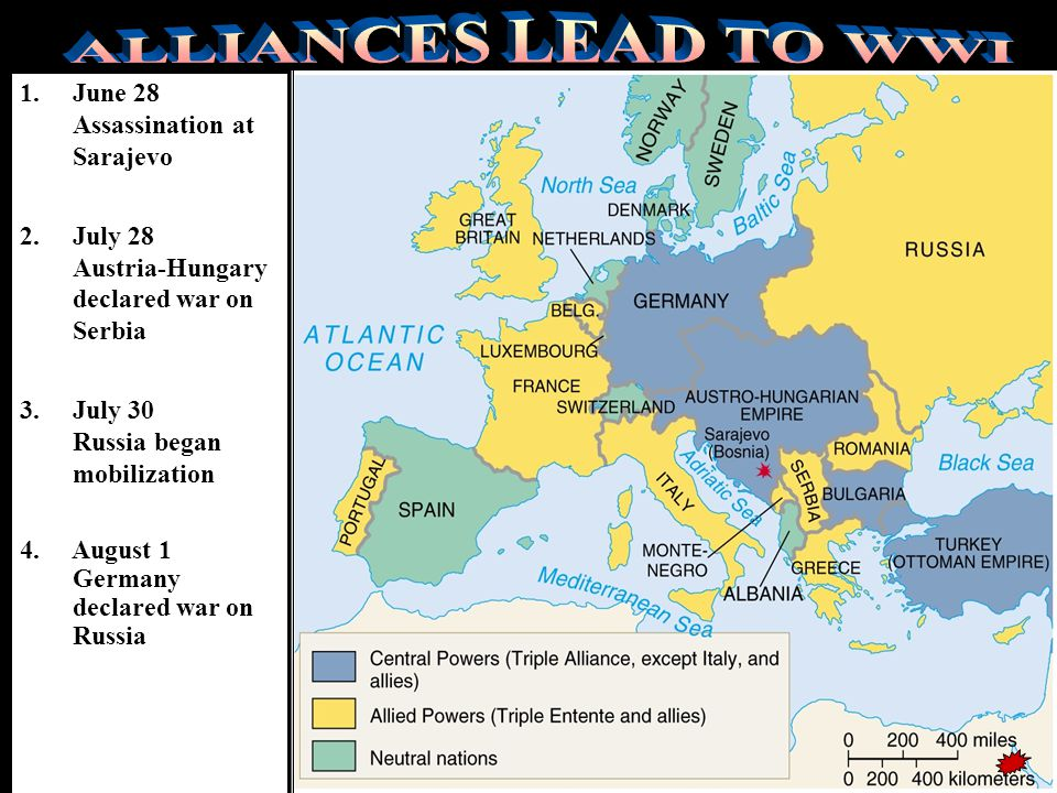 Alliances balance of powerEuropean nations began forming military alliances with one another to maintain a balance of power …….. Triple AllianceTriple