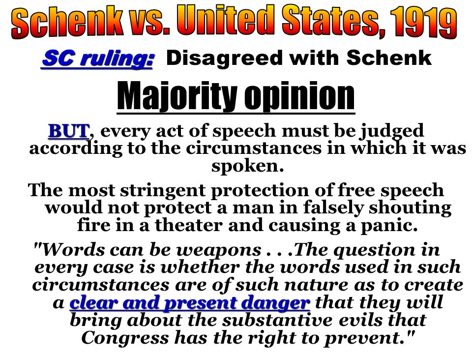 """Issue """"free speech"""" Can """"free speech"""" be censored or restricted during war time?"""