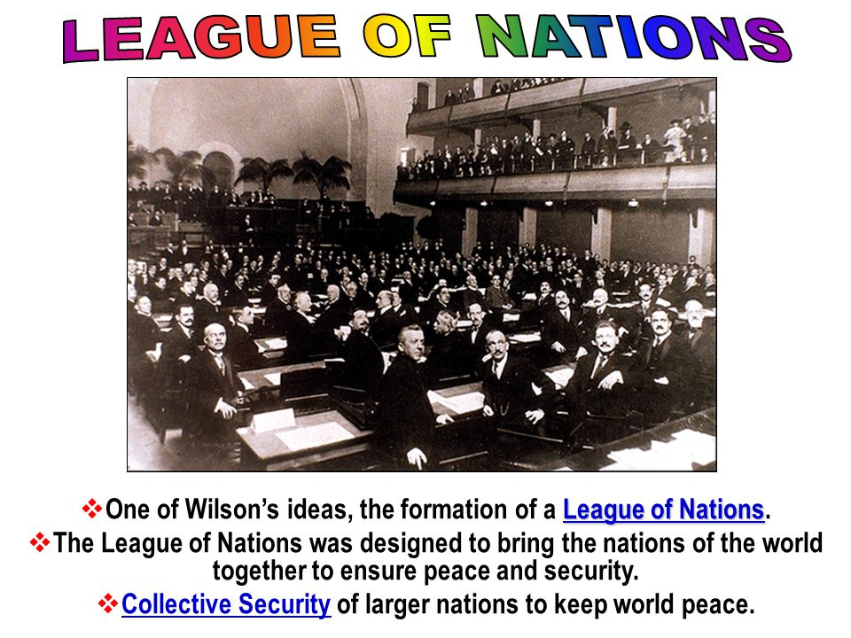 Wilson's Foreign Policy Wilson was obsessed with establishing a new world order. He believed the US should promote democracy around the world in order