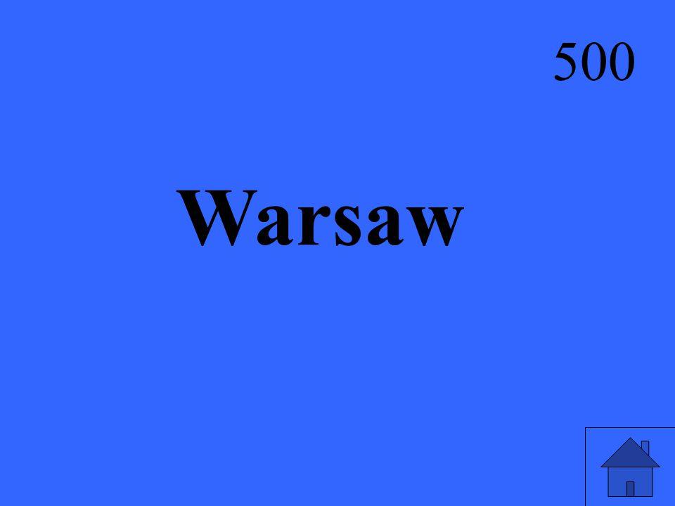 Warsaw 500