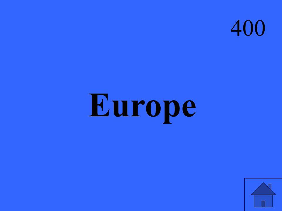 Europe 400