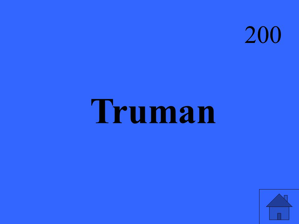 Truman 200