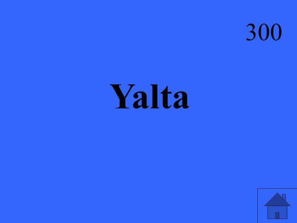 Yalta 300