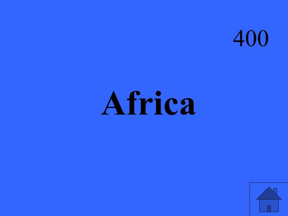 Africa 400