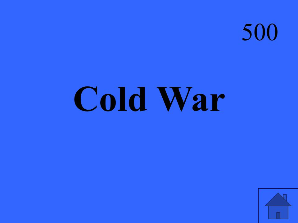 Cold War 500