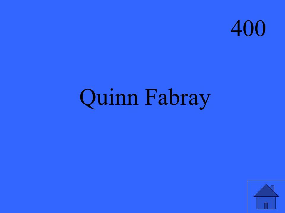 400 Quinn Fabray