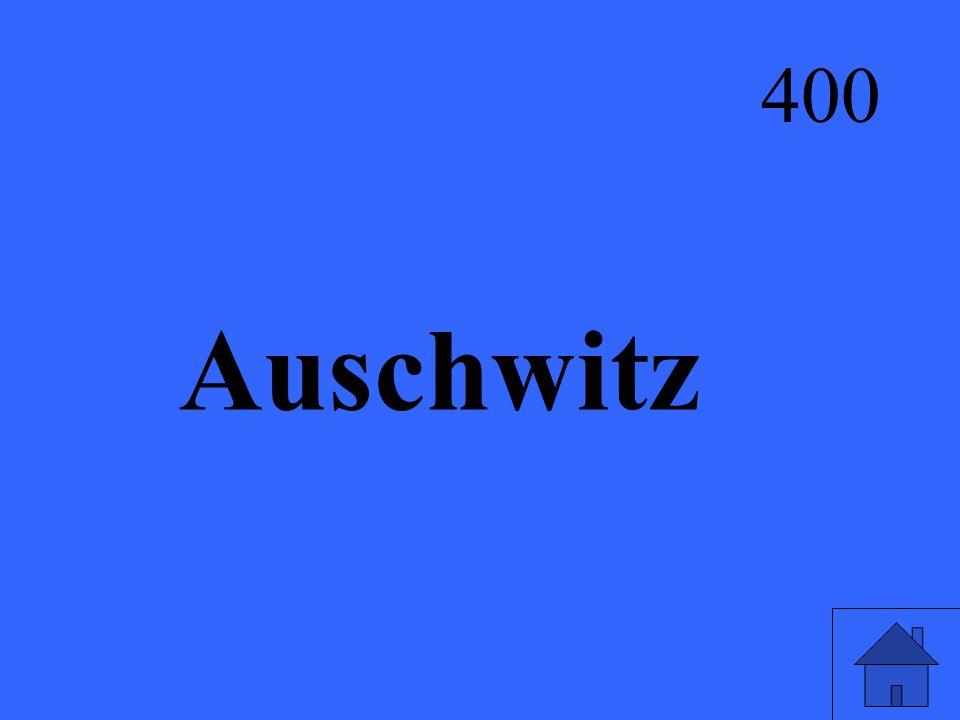 Auschwitz 400