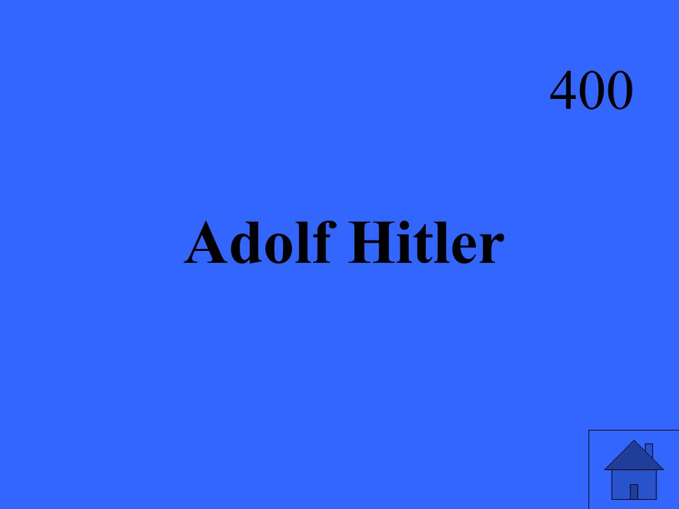 Adolf Hitler 400