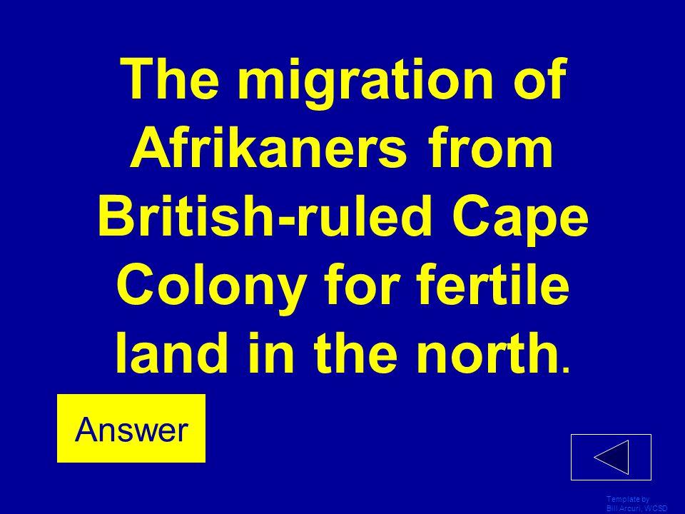 Template by Bill Arcuri, WCSD Cape Colony