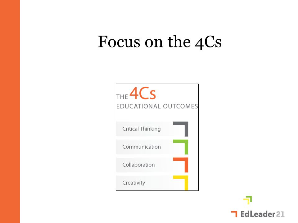 Focus on the 4Cs