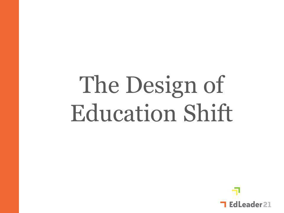 The Design of Education Shift
