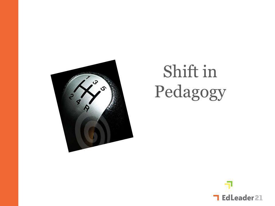 Shift in Pedagogy