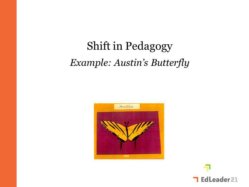 Shift in Pedagogy Example: Austin's Butterfly