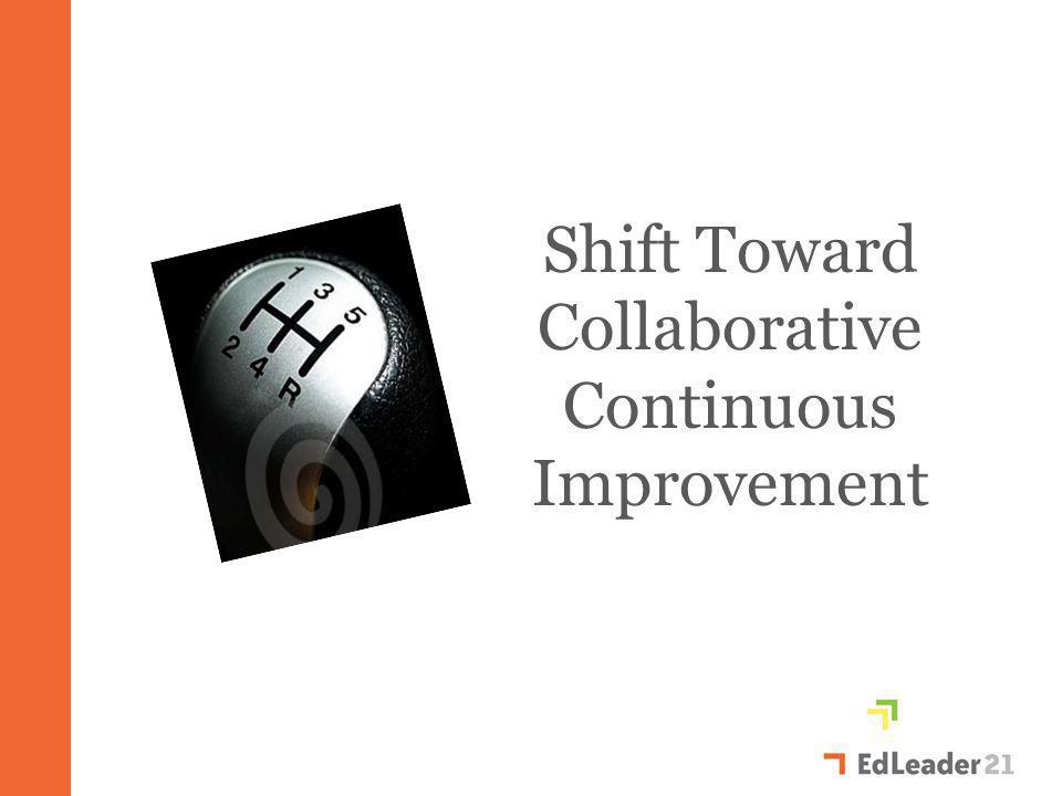 Shift Toward Collaborative Continuous Improvement