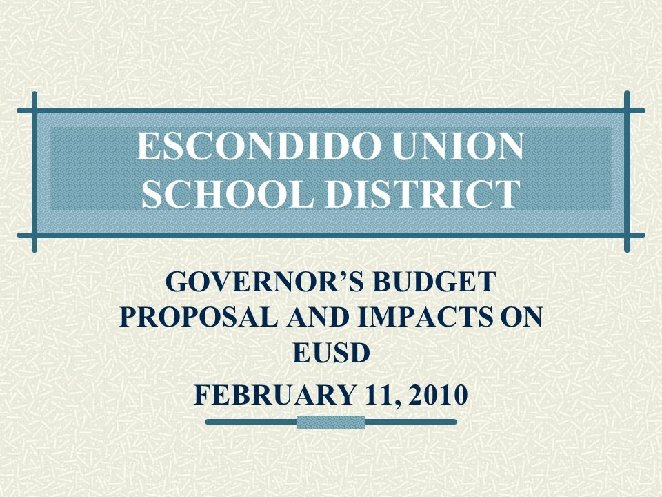 2010-11 EDUCATION BUDGET CURRENT EDUCATION CODE PROVIDES REHIRE AND SUBSTITUTE RIGHTS TO LAID OFF TEACHERS UNDER SOME CIRCUMSTANCES, LAID OFF TEACHERS GET PRIORITY FOR SUB POSITIONS, AND RECEIVE PER DIEM RATE OF PAY GOVERNOR PROPOSES TO ELIMINATE THESE REGULATIONS – THOUGH IT'S NOT CLEAR IF THAT MEANS ELIMINATING JUST THE RIGHT TO PER DIEM PAY, OR IF IT INCLUDES THE PRIORITY FOR SUBSTITUTE JOBS TOO!