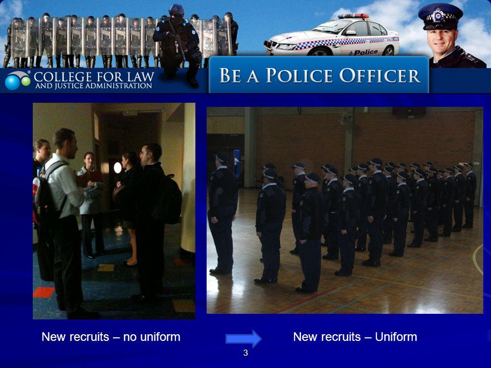 3 New recruits – no uniformNew recruits – Uniform