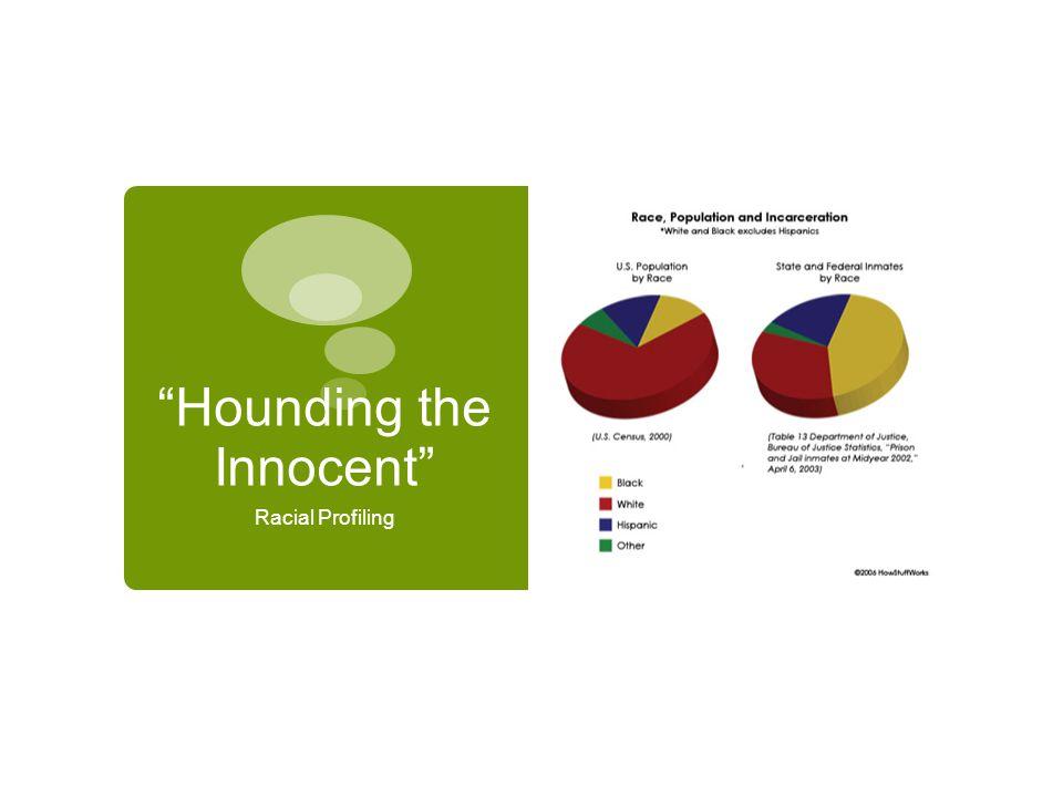 Hounding the Innocent Racial Profiling