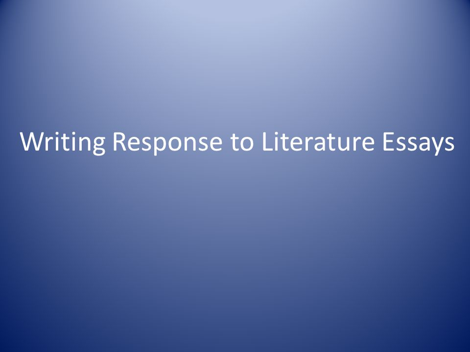 Thesis Statements This is your statement of purpose.