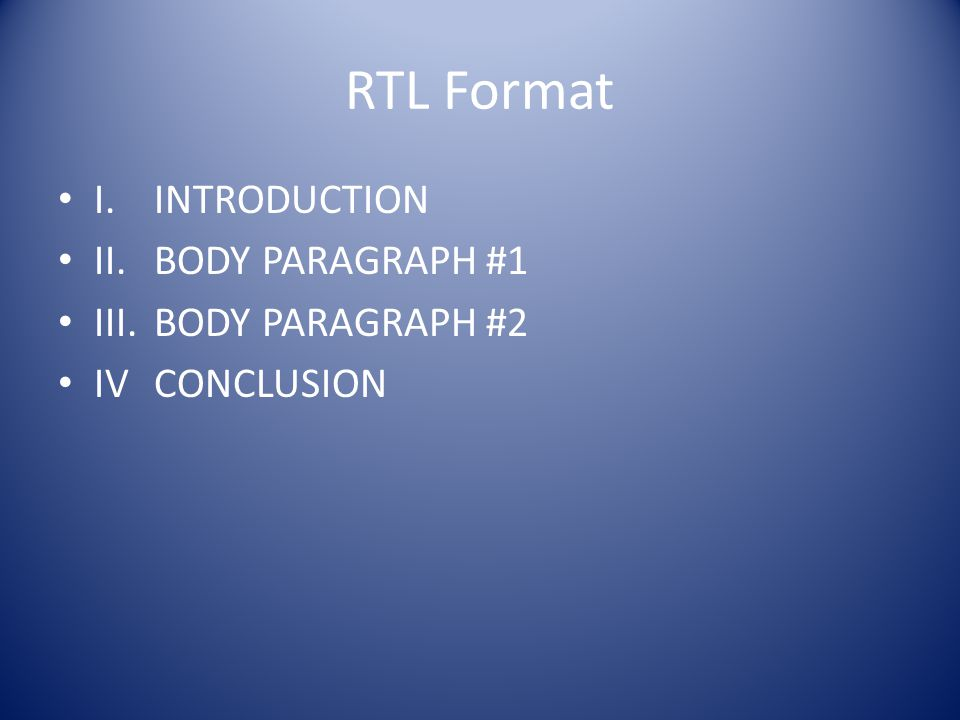 Introductory Paragraphs -This is the most important paragraph of your essay.