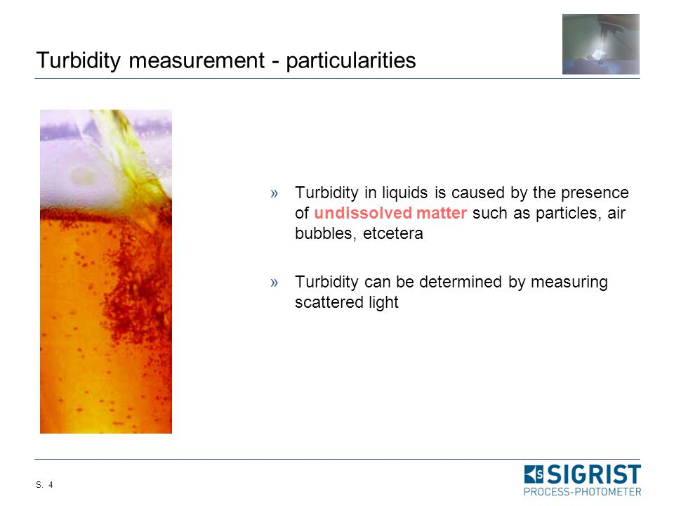 Difference in the Turbidity Readings between Online and Lab Equipment Why?