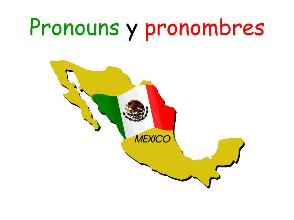 Pronouns y pronombres
