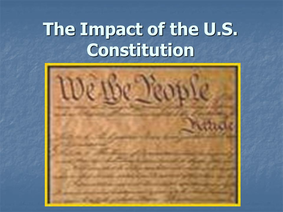 Basic Principles 1.Authority comes from the people  The people formed the U.S.