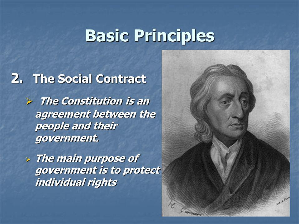Basic Principles 3.Individual Rights  Every person has natural rights.