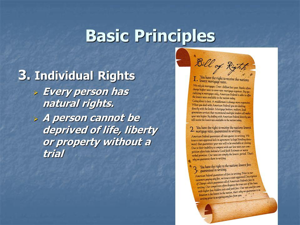 Basic Principles 4.