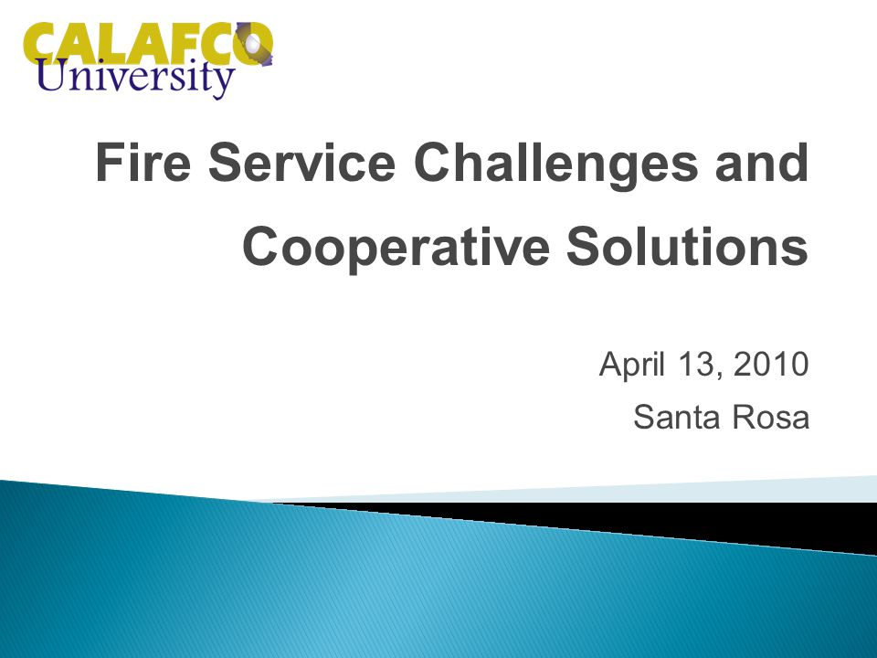 James Hill, Fire Associate, Citygate Associates, LLP Director, Cloverdale Fire Protection District
