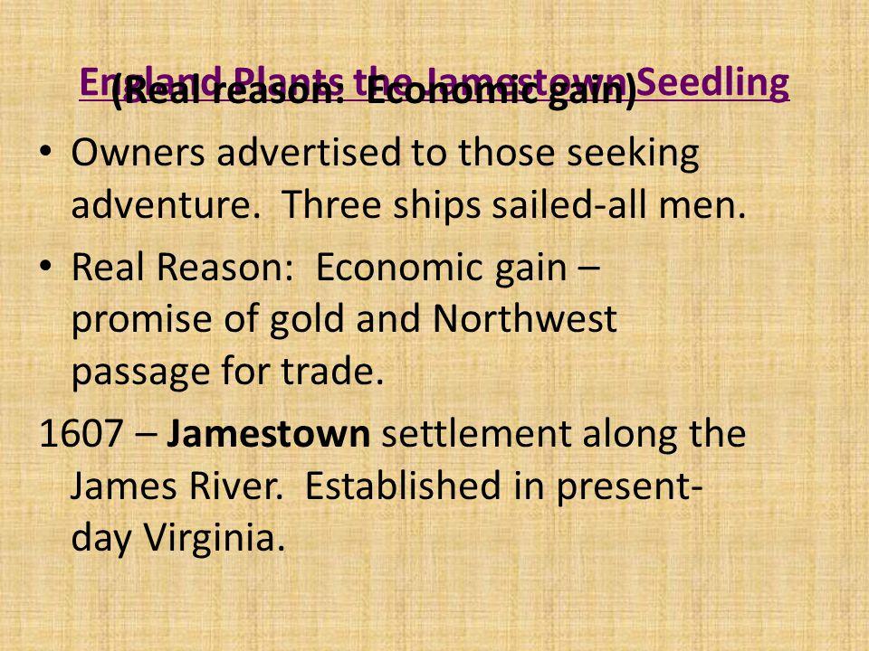 Jamestown Settlement, 1609