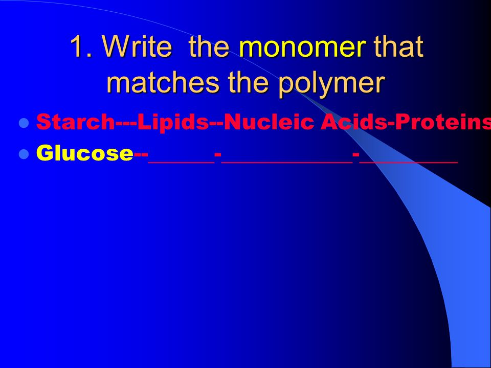 22.What type of bond holds the amino acids together in a protein.