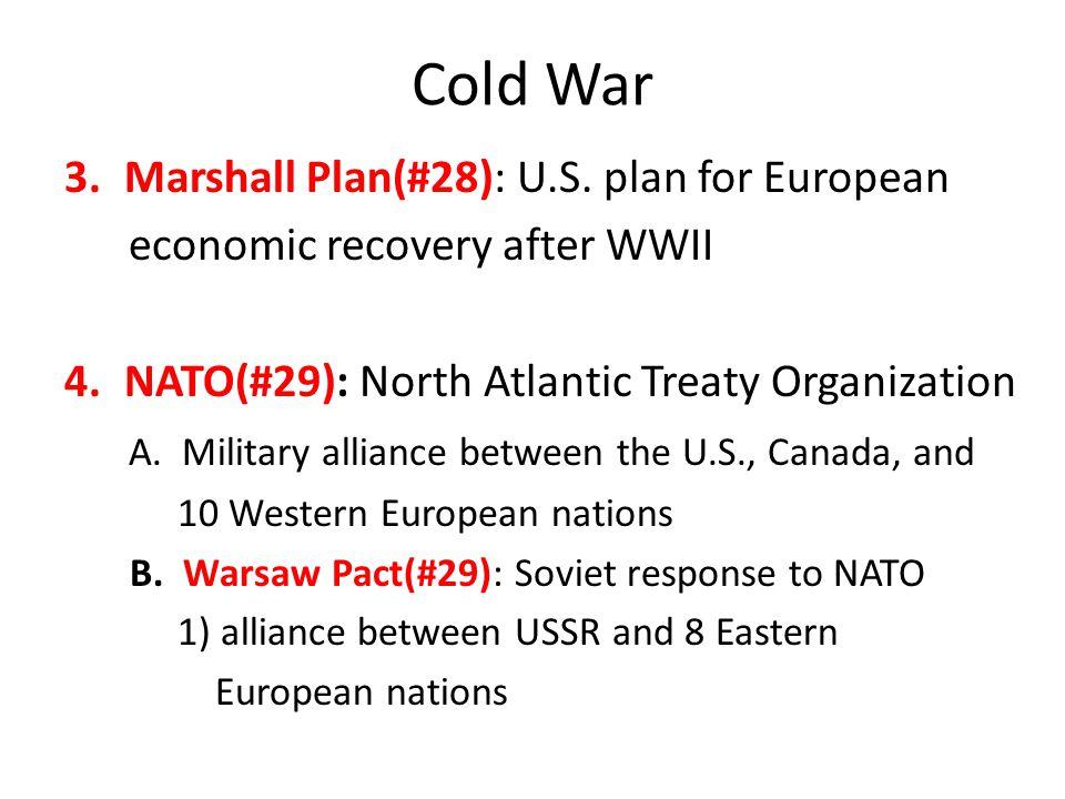 Cold War 3.Marshall Plan(#28): U.S.