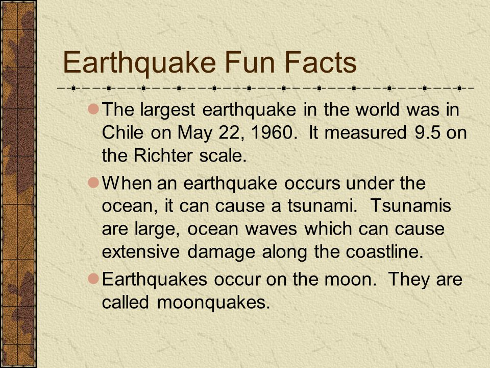 Comprehension Questions What is an earthquake.What causes an earthquake.